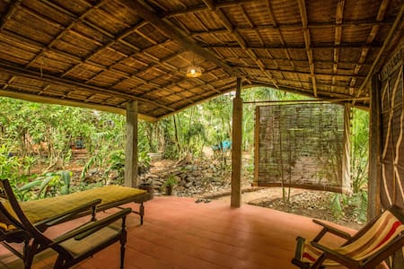 Eco-Resort in nature, 200 meters from beach