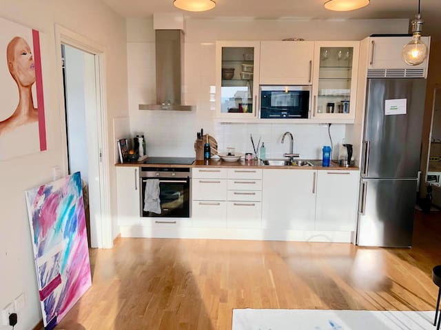 New apartment 9 minutes from the city