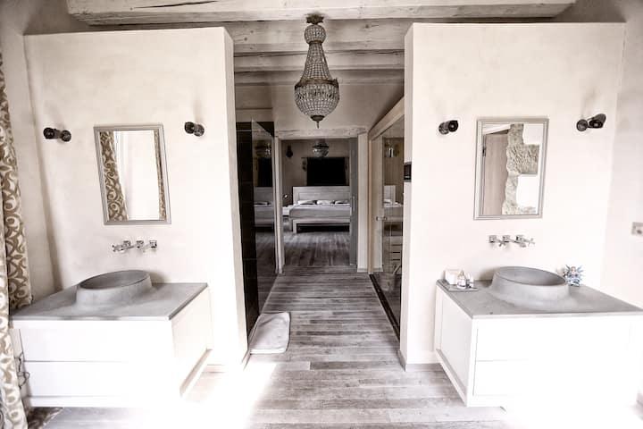 THE DREAM Room / salle de bains privée / sauna