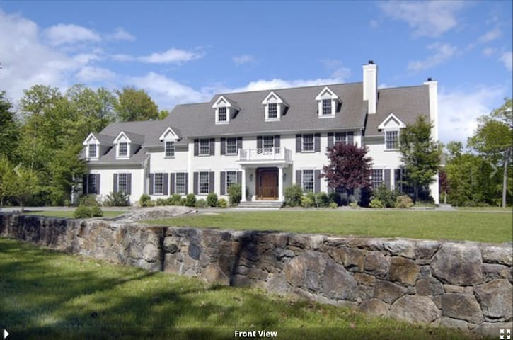 Over Sized Colonial in very private setting