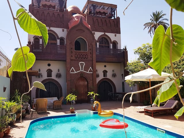 Villa Amira, Luxor West Bank. Best place to relax!