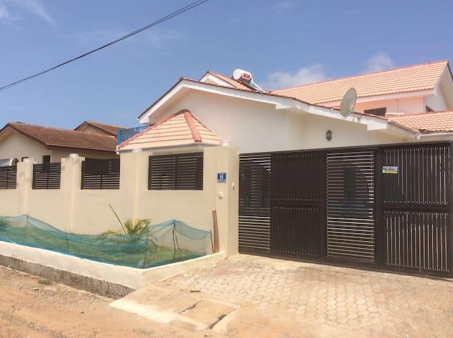 Frontal view - Kiwi lane, Spintex Accra