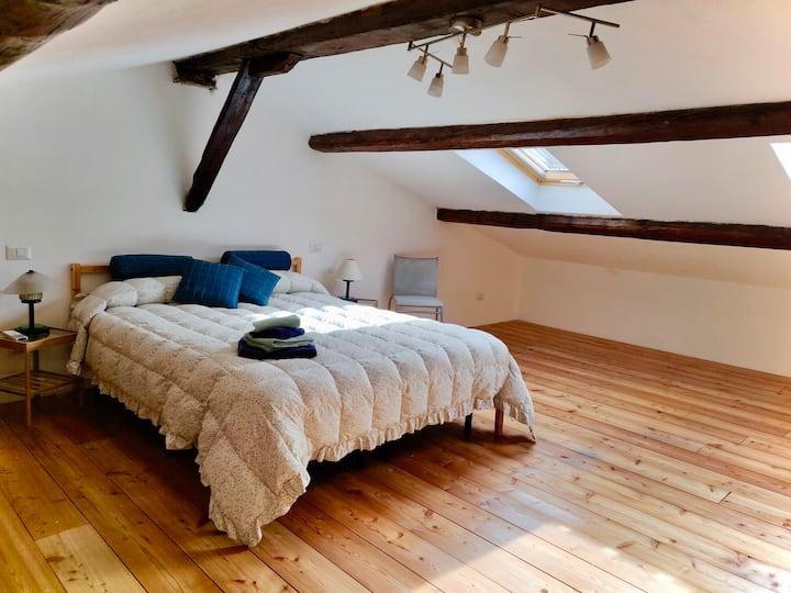 """"""" HOUSE OF POETS"""" Attico romantico Cinque Terre"""