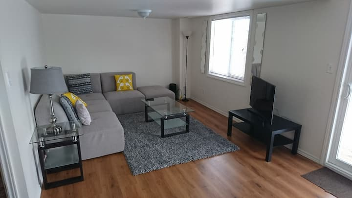 Two Bedroom Basement Apartment