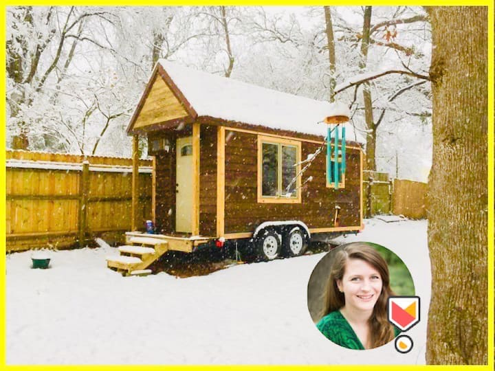 ♥ Downtown Durham Tiny House - walk to nightlife ♥