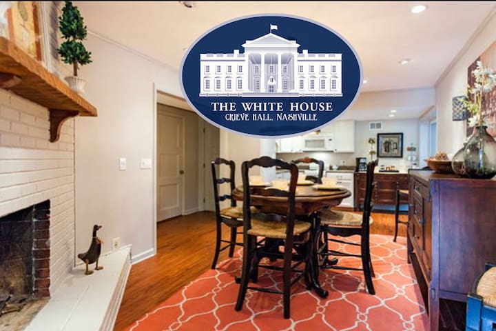 The White House at Crieve Hall-2 BR - Nashville - Hus