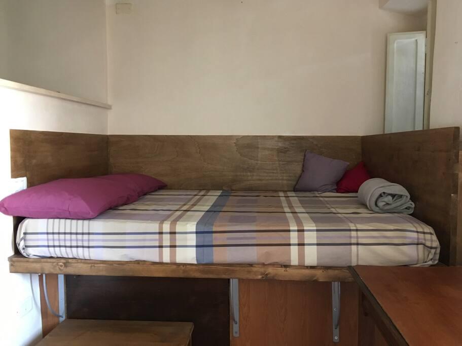 Il letto ad una piazza e mezza