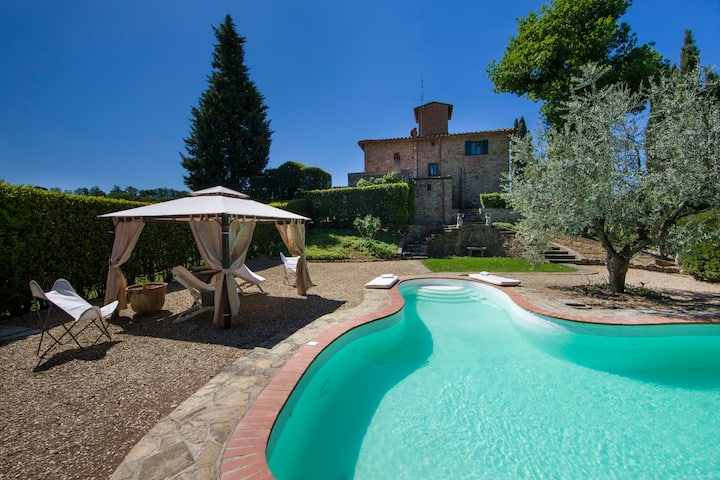 LUXURY VILLA W/PRIVATE POOL - 20 MIN FROM FLORENCE