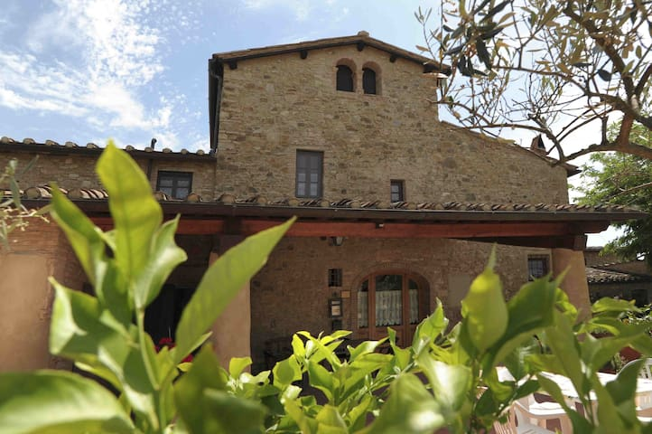 La Colombaia antica casa in toscana - Barberino Val d'Elsa - Appartement