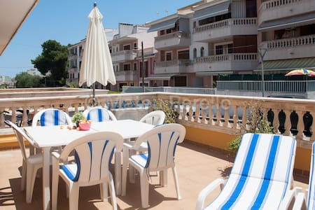 Ob2: 2 bedR Ground floor apartment near the beach - Can Picafort