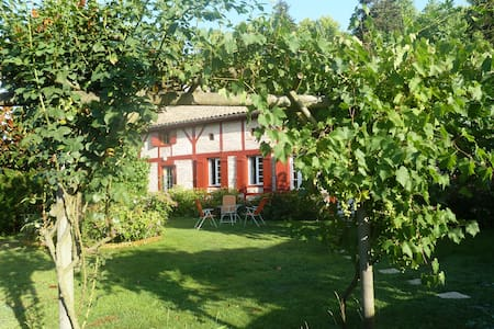 La palombiere Chambre Rose - Linxe - Bed & Breakfast