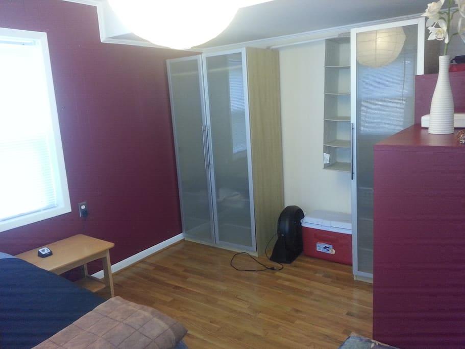 Plenty of modern IKEA closets