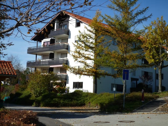 Big Holiday Flat with WiFi, Sauna - Füssen - Byt