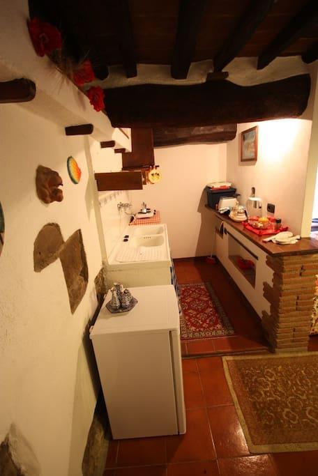 Mezzaluna - cucinotto/kitchenette