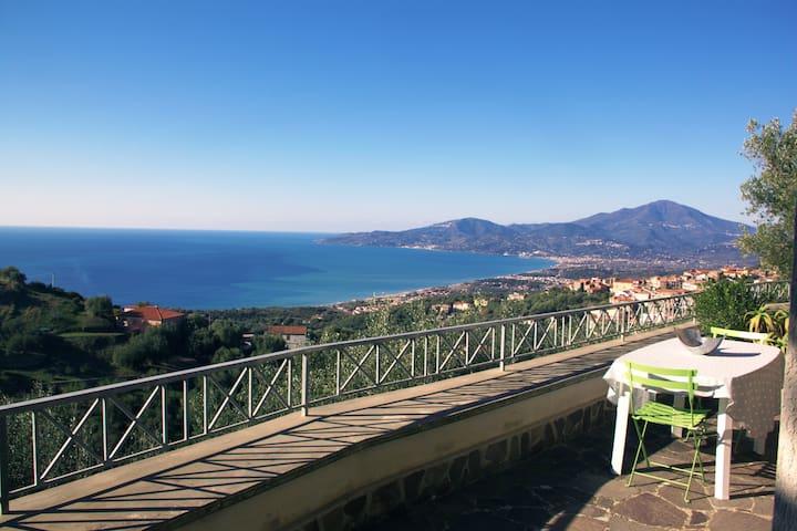Typical villa with sea view - Ascea - Villa