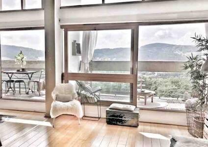 Appartement architecte design Le Corbusier