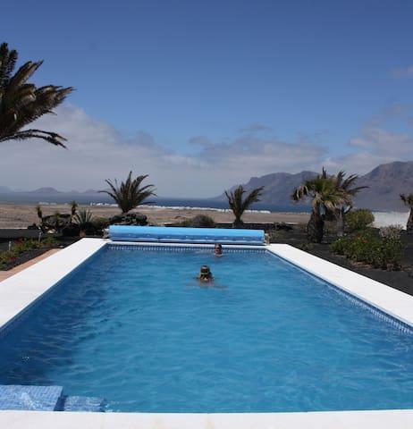 Villa Casa Lobo - Vista Graciosa  App. Teguise - Teguise