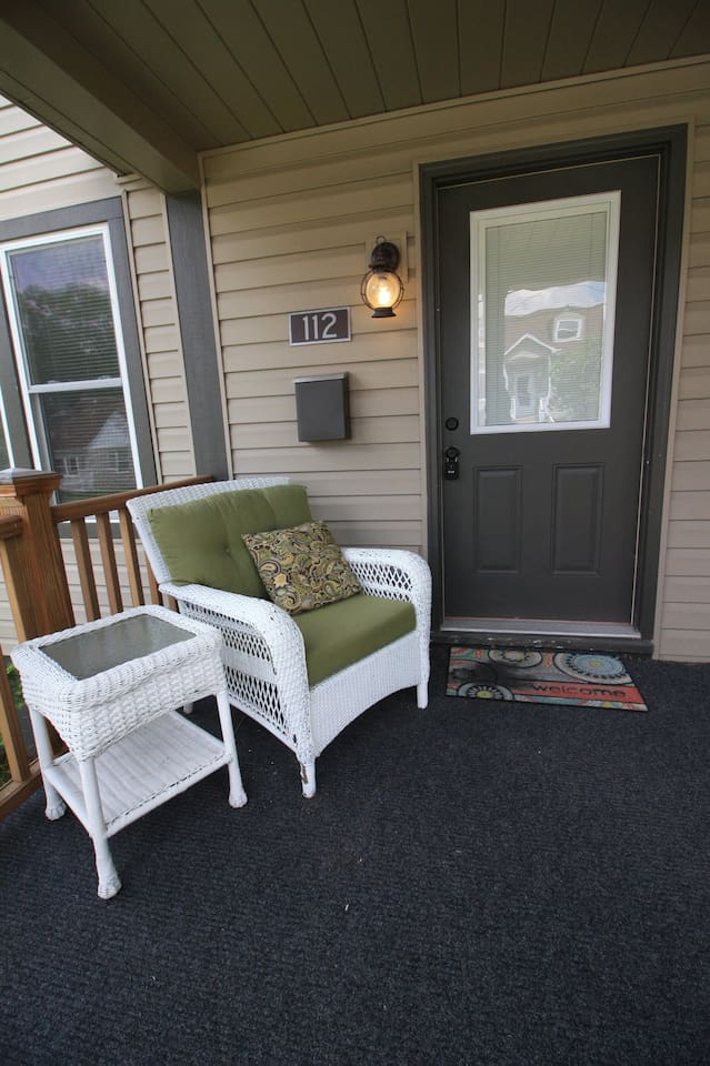 Cozy Front Porch, Perfect Place to Read