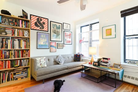 Tasteful Room in Charming Two Bedroom Apartment - New York