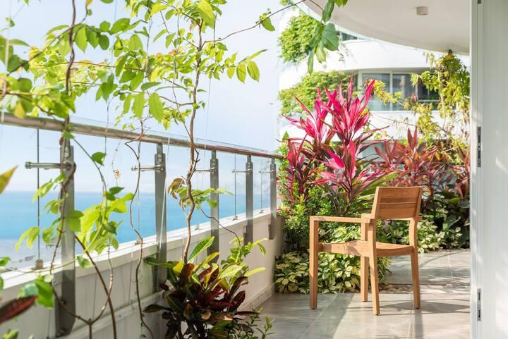 【Hey in Lingshui】清水湾海景一室一厅轻奢度假洋房  陵水/近海棠湾/南湾猴岛/珊瑚汇