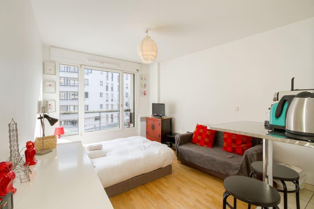Montparnasse proche de l 39 institut pasteur et m tro appartements louer - Airbnb paris montparnasse ...