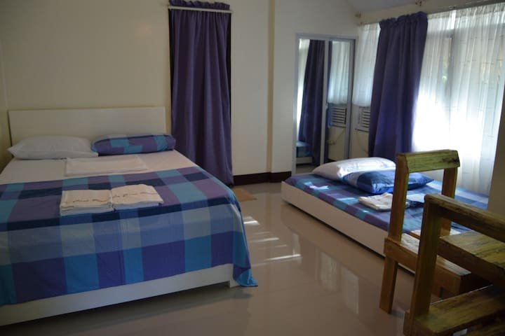 A cozy room for 2-4 persons perfect for couples, small families and friends!