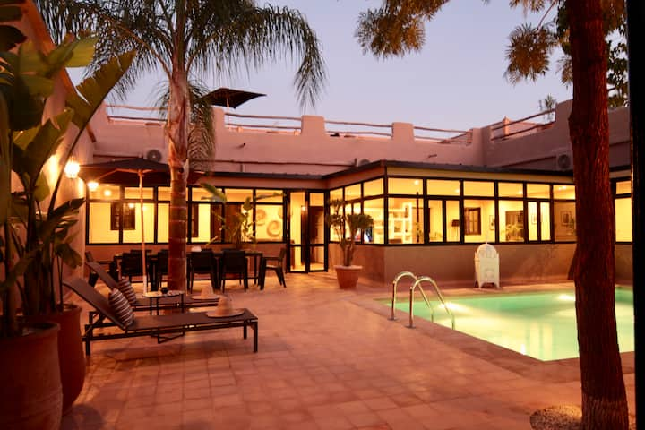 "Villa ""Jad"" (4rooms-11pers) Exclusive-Heated pool"