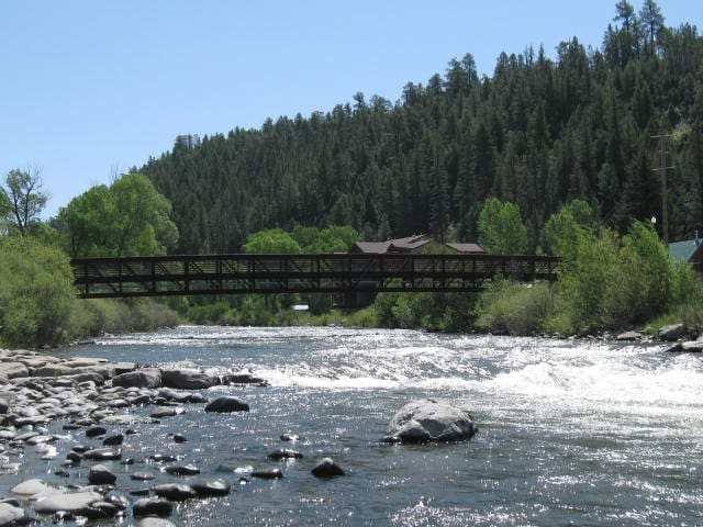 Downtown Log Cabin At River/Springs - Pagosa Springs - Cabaña