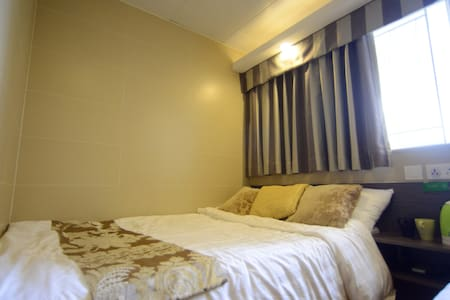 2 Min To MTR independent Double(Private Bathroom) - Apartament