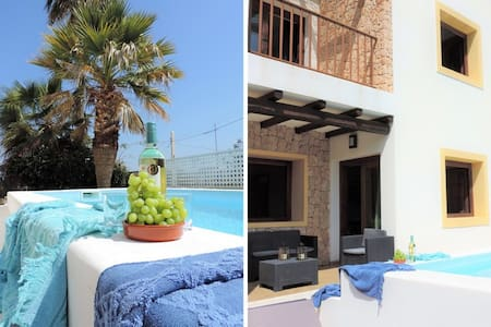 Nice villa with Pool 5 minutes from Ibiza