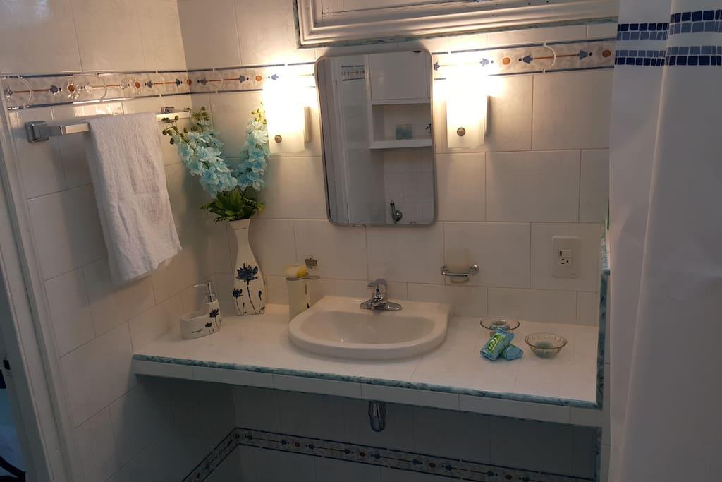 Baño privado habitación 1