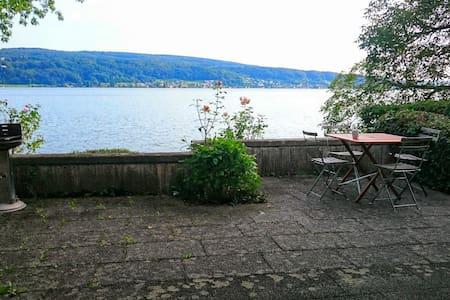 Haus am See mit Privatstand, 2  Zimmer - Reichenau