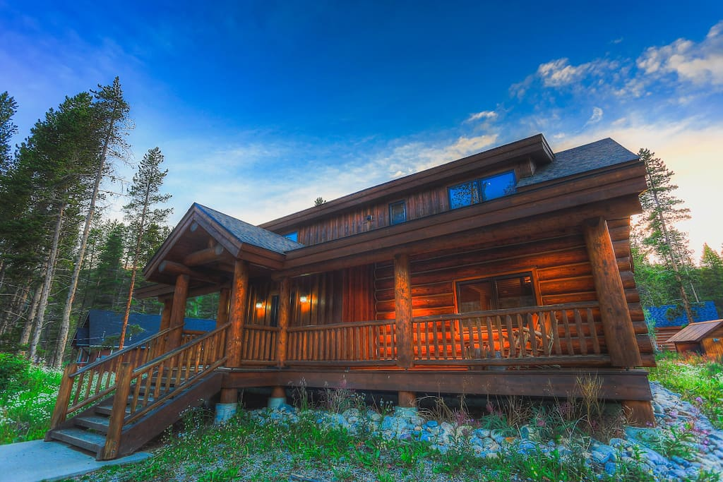 The wicker creel cabin chalet in affitto a breckenridge for Affitto cabina breckenridge