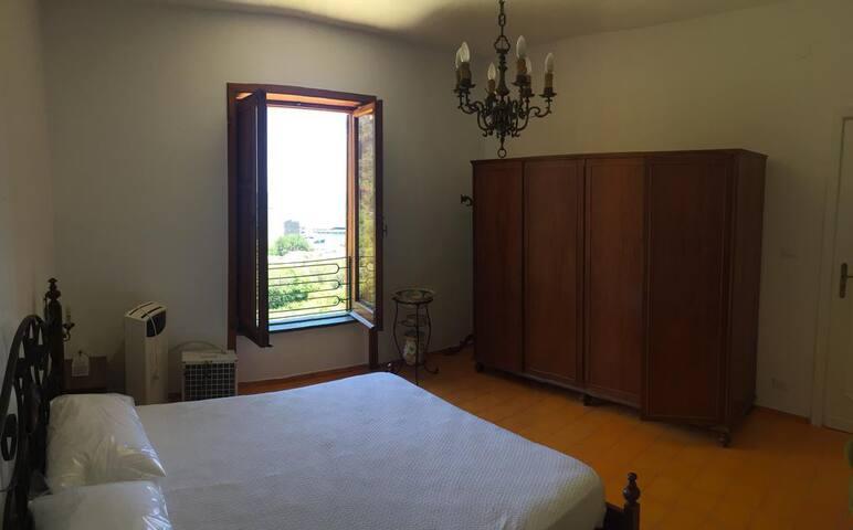 Prima stanza matrimoniale vista mare