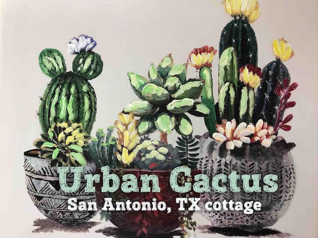 ★ Urban Cactus! Downtown, Missions, Riverwalk