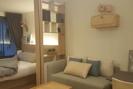 Room1018, River-front condo in the middle of bkk - Bangkok - Condominium