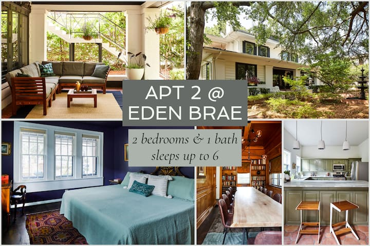 Apt2@EdenBrae - Walkable Southern Gothic Mansion