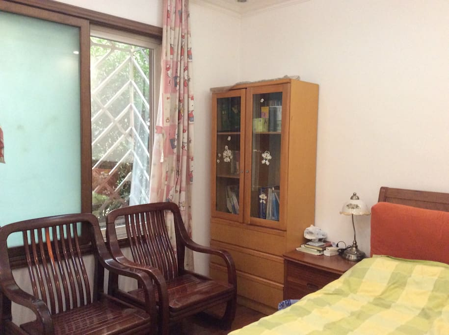 The bedroom in the villa