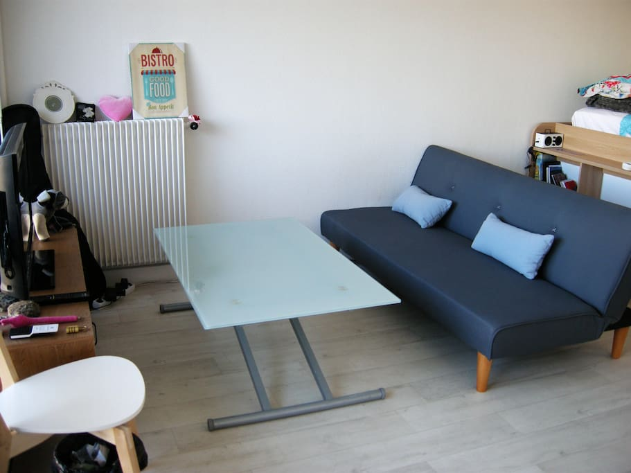 Cosy studio 30m2 near nation apartments for rent in for Decoration 30m2