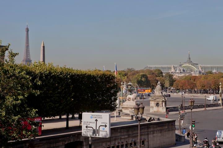 Grand studio Concorde - Paris - Apartemen
