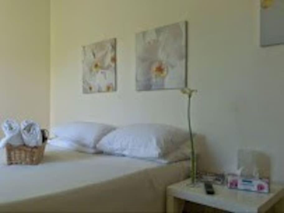 Camera Orchidee camera doppia con servizi privati con doccia