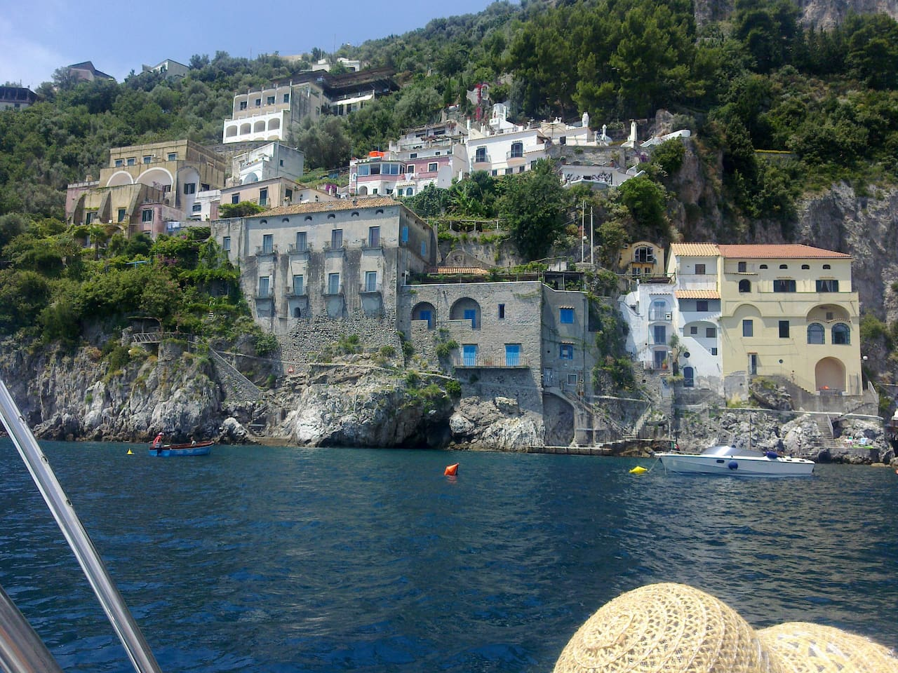 Village views from the sea