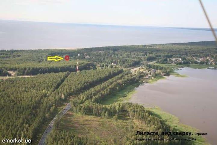 Отдых на берегу Рижского Залива  - Saulkrasti