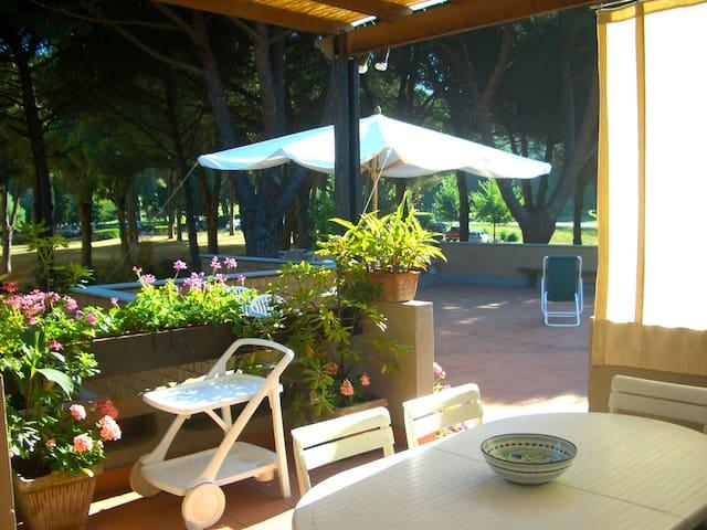 Punta Ala: appartamento con 167mq di terrazze