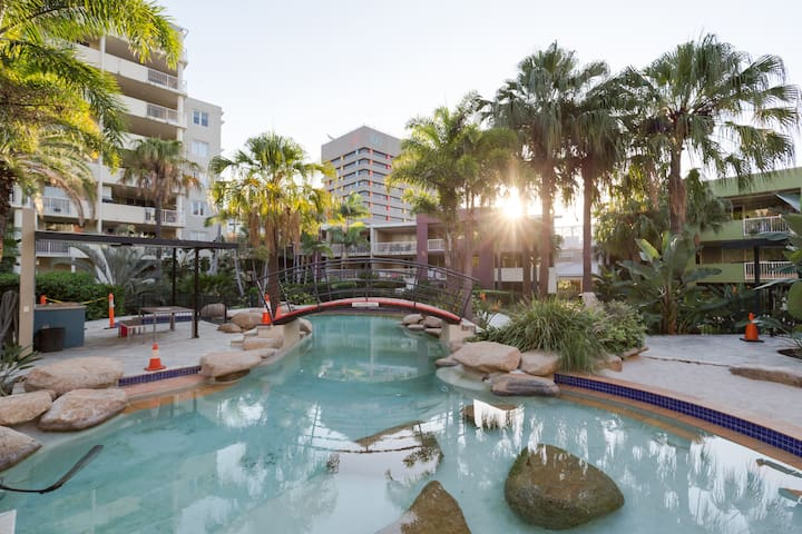 entire 2 br unit in resort complex - Fortitude Valley - Daire