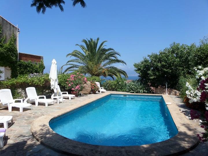 F5 de la villa  (115m2) près Porticcio