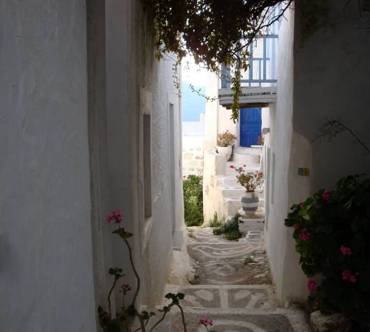 The traditional alley
