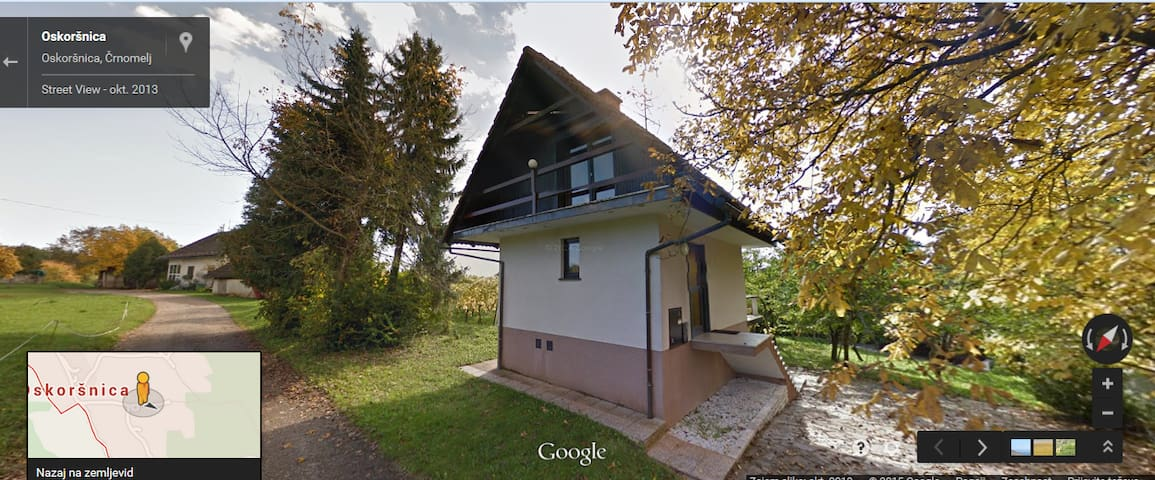 Cottage house in rural area - Semič - Ev