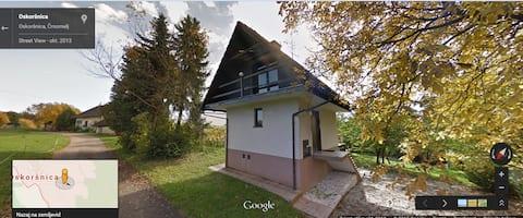 Εξοχική κατοικία σε αγροτική περιοχή