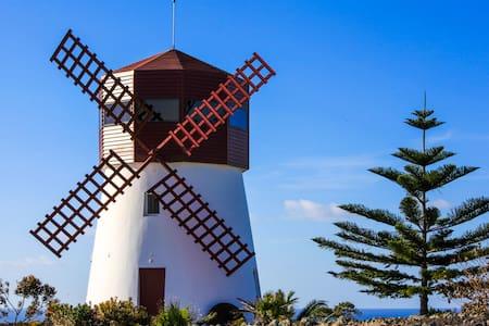 Moinho das Feteiras: Mill - Ponta Delgada
